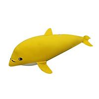 Gối Ôm Hình Con Cá Voi Hometex - Vàng (75 x 30 cm)