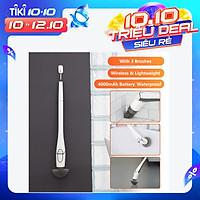 Cây Lau Nhà Điện Không Dây Đa Năng Với 3 Đầu Chổi Sạc USB Xiaomi Mijia Cl99