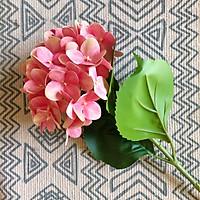 Hoa cẩm tú cầu in màu 3D cành 60 cm trang trí nhà cửa cao cấp, hoa nhìn như hoa thật, chất liệu đẹp tươi sáng, hoa lụa hoa giả cao cấp nhà concept quà tặng lâu bền và sang trọng - Nhận cắm hoa theo yêu cầu và tư vấn quà tặng