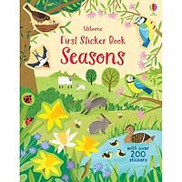 Sách Sticker tiếng Pháp: Les Saisons - Premiers Autocollants