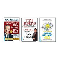 Bộ sách bán hàng tuyệt đỉnh 1 (Nghệ thuật bán hàng bậc cao + Giải pháp bán hàng 4.0 + Làm chủ nghệ thuật bán hàng)