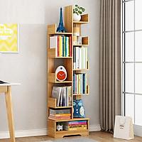 Kệ sách gỗ hình cây 11 tầng
