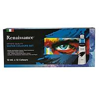 Bộ Màu Nước Renaissance 12ml (12 Màu)