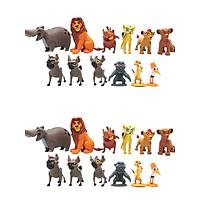 Đồ chơi mô hình, đóng vai - Set mô hình các nhân vật trong phim hoạt hình Vua Sư Tử.