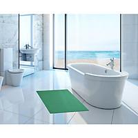 Thảm nhựa lưới chống trơn màu xanh lá cho nhà cửa, nhà tắm, văn phòng, hồ bơi