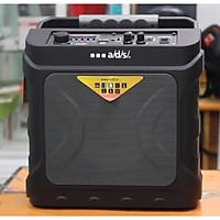 Loa karaoke xách tay A/D/S DC160 công suất 20W hỗ trợ USB/TF/AUX/FM/Mic - bass cực mạnh (màu ngẫu nhiên) tặng micro và romote, Hàng Chính Hãng