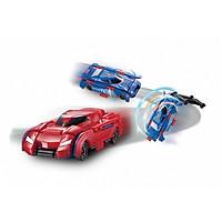 Đồ chơi VECTO Transracers - Siêu xe xanh dương biến hình siêu xe đỏ VN463875B-3