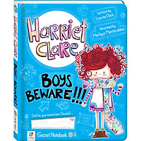 Sách tiếng Anh - Harriet Clare Boys Beware #1