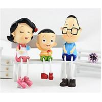 Bộ tượng trang trí gia đình hạnh phúc 02