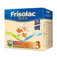 [Mới] Hộp giấy 2 Kg Frisolac Gold 3