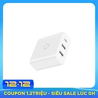 Adapter Sạc Nhanh 3 Cổng ZMI HA832 (2 USB-A và 1 USB-C) 65W - Hàng chính hãng