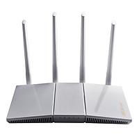 Router Wifi Asus RT-AX55 (Trắng) Chuẩn AX1800 Dual Band WiFi 6 - Hàng Chính Hãng