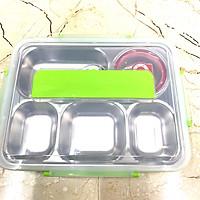 Bộ khay cơm phần 5 ngăn inox 304 có chén đựng canh và muỗng đũa