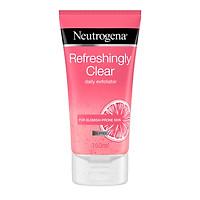 Sữa rửa mặt Neutrogena Refresshingly Clear Daily Exfoliator Oil Free