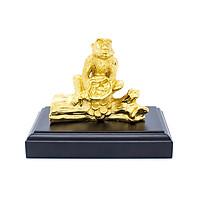 Tượng khỉ phong thủy ma vàng 24K, linh vật cho người tuổi Thân
