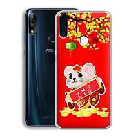 Ốp lưng dẻo cho điện thoại Zenfone Max Pro M2 - 01219 7944 HPNY2020 04 - Xuân Canh Tý 2020 - Hàng Chính Hãng