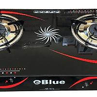 Bếp Gas Đôi Mặt Kính eBlue - (Sen Nhôm) EBB112- Hàng Chính Hãng
