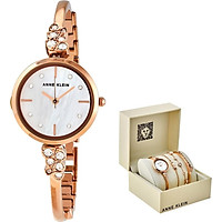 Bộ đồng hồ và vòng tay ANNE KLEIN 3430RGST