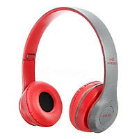 Tai Nghe Bluetooth chụp tai P47 có khe cắm thẻ nhớ và gấp gọn tiện dụng