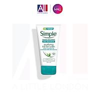 Sữa rửa mặt cho da dầu Simple Purifying Facial Wash Daily Skin Detox 150ml