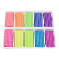 Sáp Nặn Học Tập 10 Màu Neon SMARTKIDS SK-BX10N