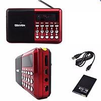 Loa Đài FM Nghe Nhạc USB Thẻ Nhớ Craven Cr-16