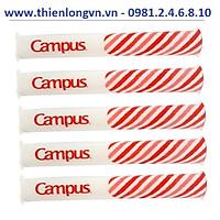 Combo 5 cuộn bọc sách giáo khoa nylon Campus NC-BOK-10-3