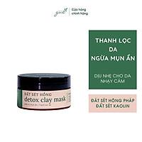 Mặt Nạ Thải Độc Đất Sét Hồng Pháp Ngừa Mụn GUO - Detox Clay Mask 100gr