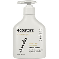 Nước rửa tay hương vani và dừa gốc thực vật Ecostore 250ml