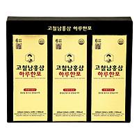 Nước Hồng Sâm Korean Red Ginseng Extract One Day One Stick Kocheolnam 300ml (10ml x 30 Gói)