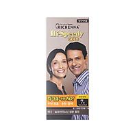 Thuốc nhuộm tóc phủ bạc thảo dược Richenna Hi-Speedy Gold Hàn Quốc màu đen tự nhiên 150g