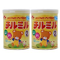 2 Hộp Sữa Bột Morinaga Chilmil Số 2 (850g) Dành cho trẻ từ 6 -36 tháng tuổi