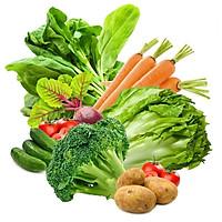 Combo 7-8kg - Rau củ quả tươi sạch, rau xanh Đà Lạt