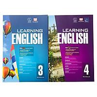 Sách: Learning English - Tiếng Anh Lớp 3 và Lớp 4 ( 8 - 10 tuổi )
