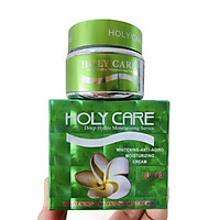 KEM HOLY CARE XANH LÁ - CHỐNG NHĂN - CHỐNG LÃO HOÁ - DƯỠNG TRẮNG -HOLY CARE WHITENING ANTI AGING MOISTURIZING CREAM
