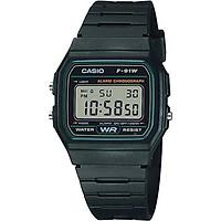 Đồng hồ unisex dây nhựa Casio F-91W-3DG
