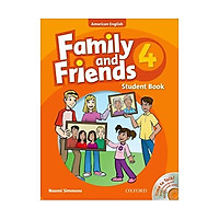 Family and Friends 4 Student Book and Audio CD Pack AmEd