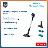 Máy Hút Bụi Không Dây Có Cán Philips FC6728 - Hàng Chính Hãng