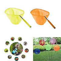 2-piece Kid Telescopic Butterfly Fishing Net Extendable 85cm Outdoor Games