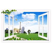 Tranh Dán Cửa Sổ Phong Cảnh 3D CS0238 (150 x 100 cm)