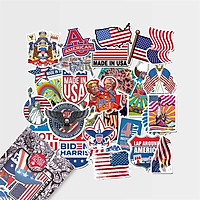 USA - Set 30 sticker hình dán