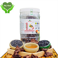 Hà thủ ô đỏ MẸ KEN hũ 500gr loại viên mật ong rừng - tặng 1 chai mẫu thử tinh dầu tràm gió nguyên chất MẸ KEN