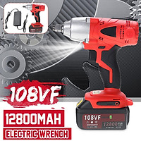 108VF Cordless Electric Wrench 330N.m Impact Wrench Rechargeable Battery Impact