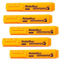 Bộ  5  Bút dạ quang FlexOffice FO-HL05