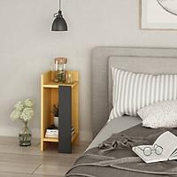 Tủ gỗ đầu giường hiện đại SMLIFE Nassau – Cạnh phải