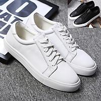 Giày Sneaker, giày thể thao big size cỡ lớn cho nam chân to bè bằng da bò thật - SK092