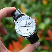 Đồng hồ nam dây da SE0006888 - Hiển thị lịch ngày thứ tiện lợi - Thiết kế hiện đại, trẻ trung - Chống nước, chống xước