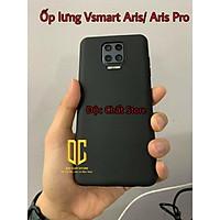 Ốp dẻo đen TPU Vsmart Aris/Aris Pro