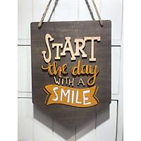 Bảng gỗ trang trí handmade 061