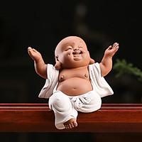 Tượng Phật Di Lạc Ngồi Phật Dang Tay (Tam Thế)